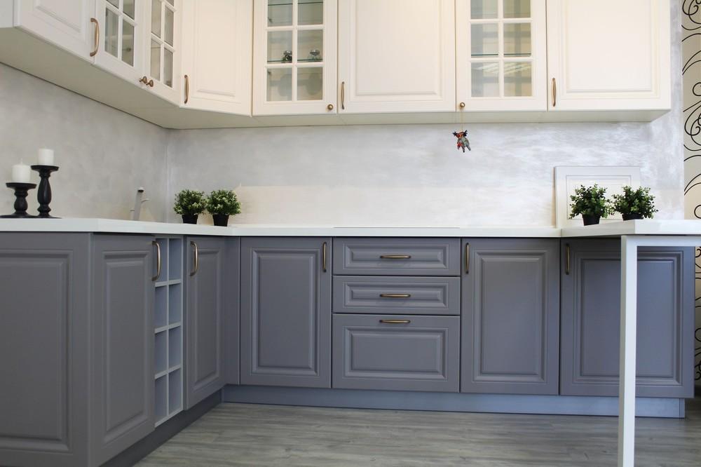 Встроенная кухня-Кухня МДФ в ПВХ «Модель 282»-фото7