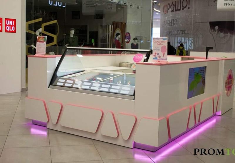 Торговая мебель-Торговый островок «Модель 230»-фото1