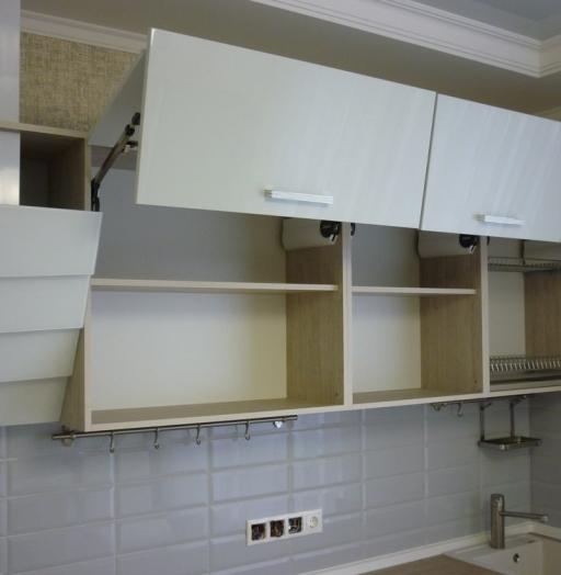 -Кухня из пластика «Модель 319»-фото24
