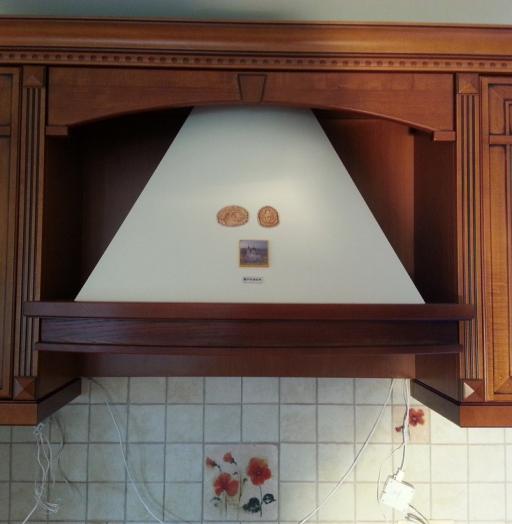 Встроенная кухня-Кухня из массива «Модель 211»-фото5