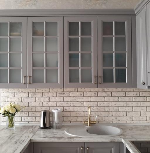 -Кухня МДФ в эмали «Модель 281»-фото2