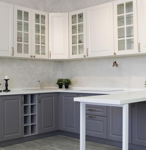 -Кухня МДФ в ПВХ «Модель 282»-фото19