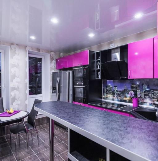 -Кухня МДФ в эмали «Модель 115»-фото9