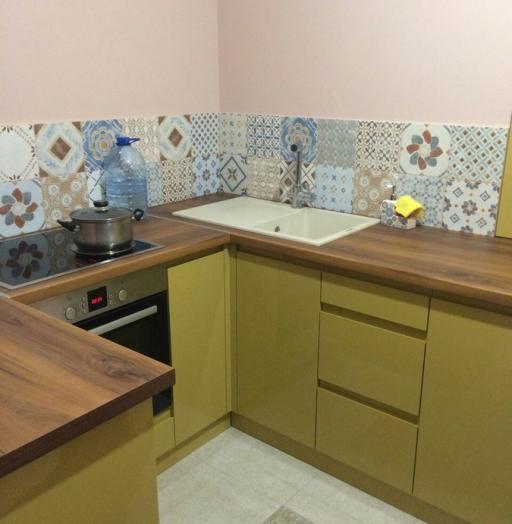 -Кухня МДФ в эмали «Модель 90»-фото21