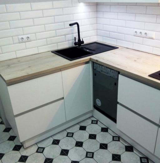 -Кухня из пластика «Модель 198»-фото27
