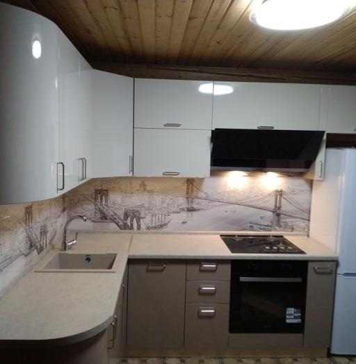 -Кухня МДФ в ПВХ «Модель 38»-фото4