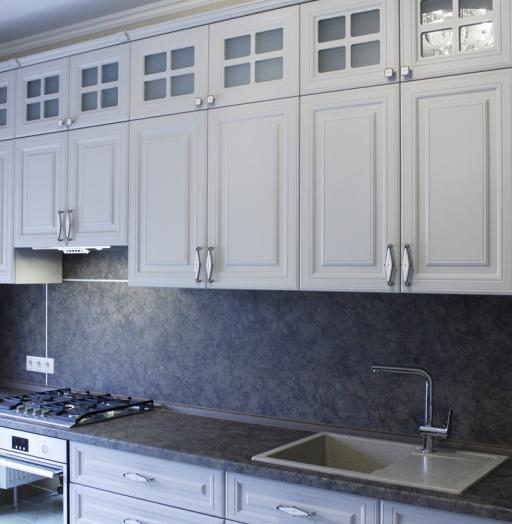 -Кухня МДФ в ПВХ «Модель 147»-фото12