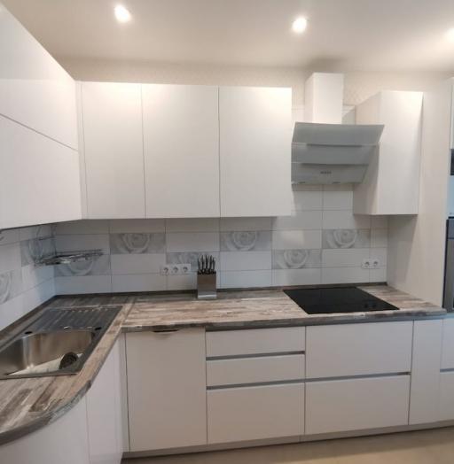 -Кухня МДФ в ПВХ «Модель 574»-фото12